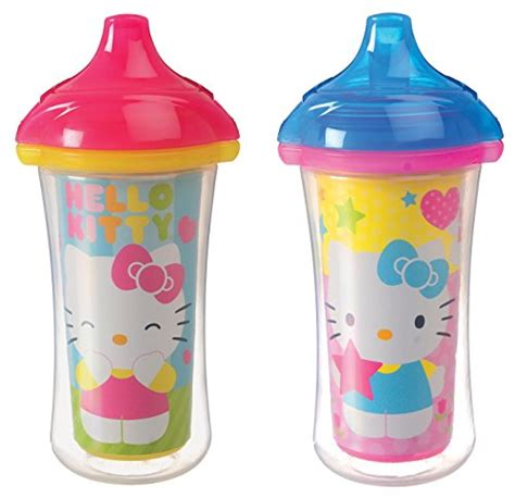 munchkin hello click lock 2 count insulated sippy cup 9 ounce new free