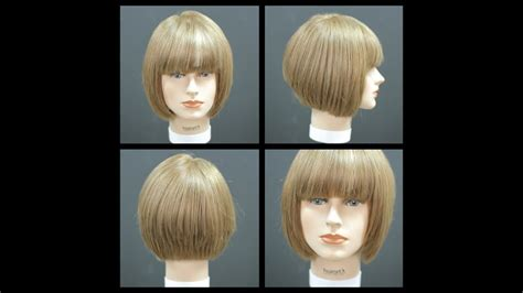 bob haircut  bangs haircut tutorial thesalonguy