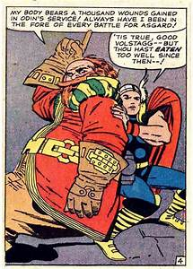 Thor and Volstagg by Jack Kirby | The Mighty Thor ...