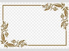 Picture frame Lovely old golden frame png download