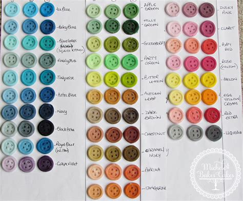 food coloring color chart food color chart sugarflair wilton all things baking