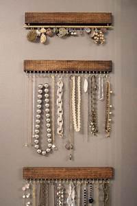 porte bijoux mural a faire soi meme maison design With fabriquer porte bijoux facile