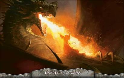 Magic Gathering Wallpapers Song Seething Dragon Fire