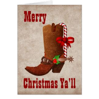 If you still have more time, think it twice about who you will distribute the cards to. Cowboy Christmas Cards | Zazzle