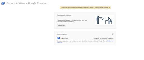 chrome bureau à distance chrome remote desktop prenez le contrôle de votre pc à