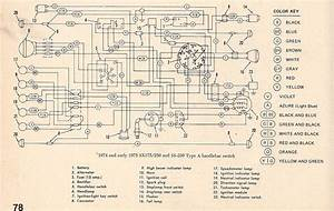 For A 1975 250 Enduro Amf Harley Davidson Wiring Diagram From Magneto To Head Light And Tail Light