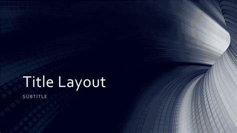 business digital blue tunnel  widescreen