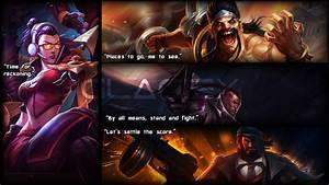 League of Legends - Vayne, Draven, Lucian, Graves by ...