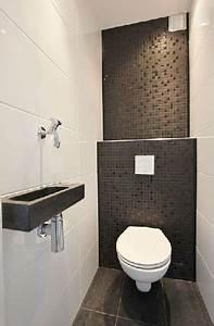 deco wc sol gris With carrelage adhesif salle de bain avec lampadaire de salon sur pied a led