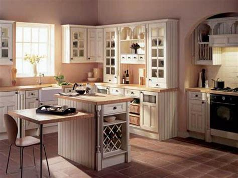 Bloombety  Old Cream Country Kitchen Design Old Country