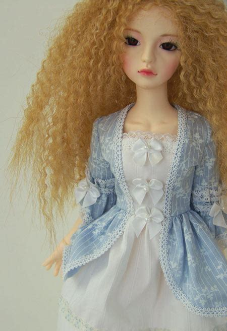 romantic doll msd clothes pattern