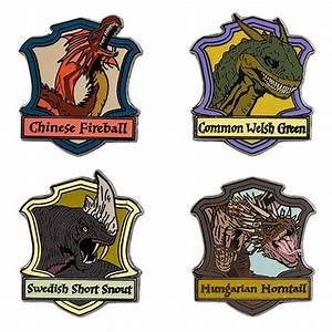 Triwizard Dragons Miniature Pin Set | Universal Orlando™