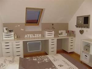 Créer Son Bureau Ikea : astuce atelier couture ~ Melissatoandfro.com Idées de Décoration