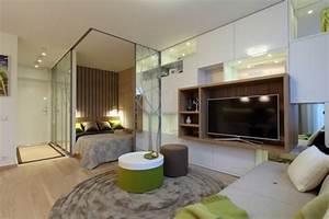 Wohnung Modern Einrichten : einrichtungsideen 1 zimmer wohnung ~ Eleganceandgraceweddings.com Haus und Dekorationen