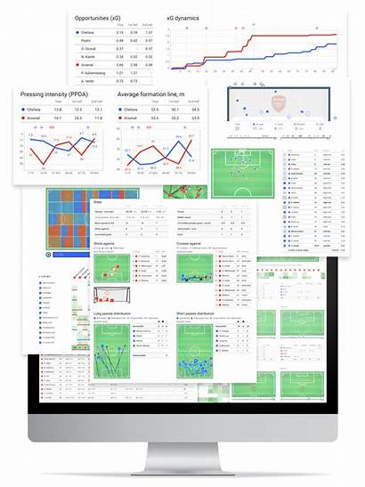 Wyscout Report Football Match Reports Statistical Soccer