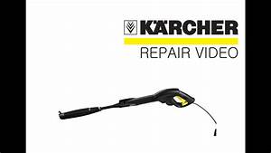How To Fix A Karcher Pressure Washer Spary Gun