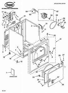 Roper Model Res7745pq0 Residential Dryer Genuine Parts