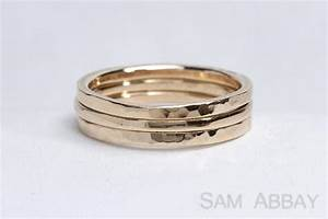hammered bands new york wedding ring With hammered wedding rings