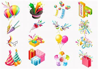 Party Icon Vector Psd Pack Photoshop Icons