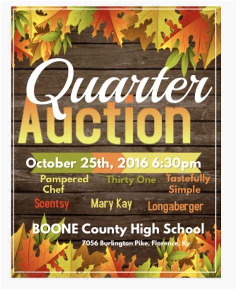 quarter auction boone county high school