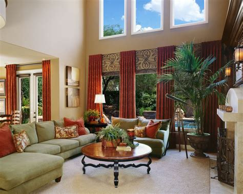 curtain ideas for living room 2 windows living room family room san diego by robeson design