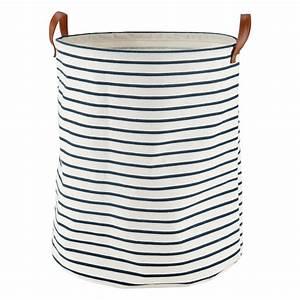 Maison Du Monde Panier À Linge : sac de rangement rayures en tissu pirate maisons du monde ~ Farleysfitness.com Idées de Décoration