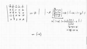 Eigenwert Matrix Berechnen : 05f 2 eine 5x5 determinante ausrechnen youtube ~ Themetempest.com Abrechnung