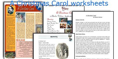 a christmas carol worksheets