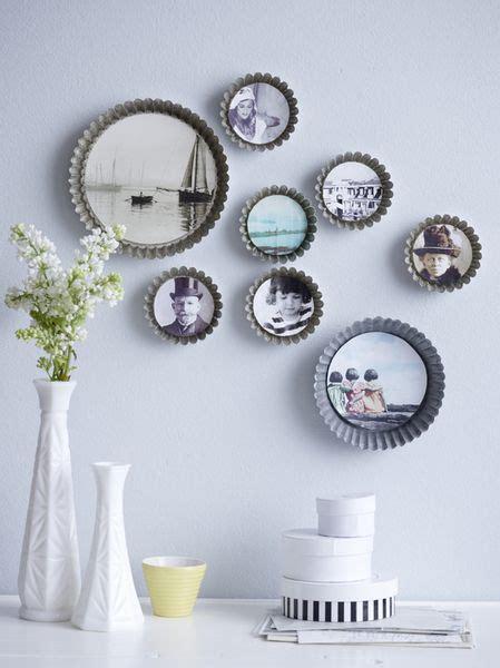 Schöne Bilder Zum Aufhängen by Kuchenformen Als Bilderrahmen Kreativ Mit Fotos