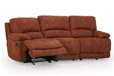 microfiber sofa recliner valeri microfiber reclining sofa at gardner white