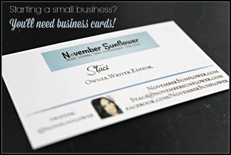 Starting A Small Business? You'll Need Business Cards Business Card Cases Engraved Embossed Vistaprint Christmas Messages Uk Visiting Paper Suppliers Cards Voucher Code Best Printing Vancouver Two Sided Word Template Washington