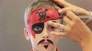 Maquillage Pirate Halloween : un maquillage de pirate facile faire pour l 39 halloween ~ Nature-et-papiers.com Idées de Décoration