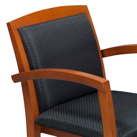 wood used cherry side chair black national office