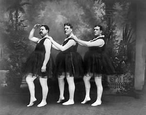 Men In Tights And Tutus Photograph by