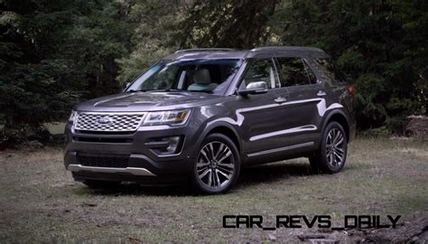 2016 Ford Explorer Revealed With New Engines, Fresh