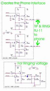 Schematic Rj 11 And Ringer Circuit  Schematic Rj-11 And Ringer Circuit Jpg  - 865004