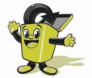 Recycling Bin Cartoon - ClipArt Best
