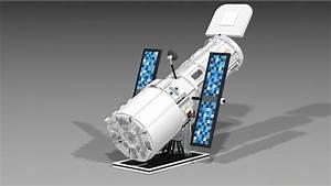 LEGO Ideas The Hubble Space Telescope Achieves 10,000 ...