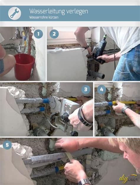 Schritt Fuer Schritt Ein Haus Modernisieren by Wasserleitung Verlegen Wasserrohre K 252 Rzen Selbermachen