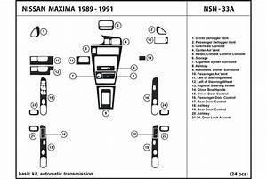 1990 Nissan Maxima Dash Kits