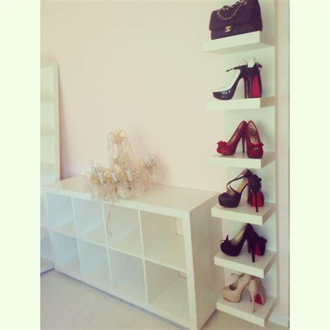 Ikea Regalbrett Lack by Shoe Wall Ikea Lack Shelf Shoes Shelves