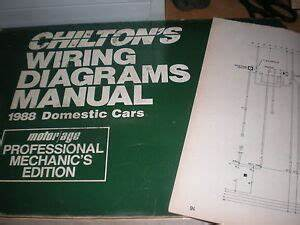 1988 Lincoln Continental Wiring Diagrams Schematics Manual