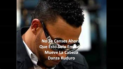 Don Omar Lyrics by Don Omar Danza Kudura With Lyrics