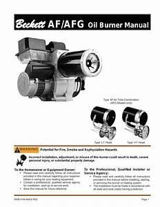 Beckett Afg User Manual