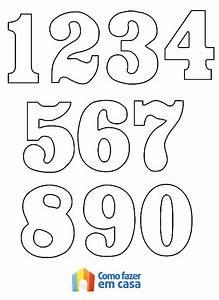 Confira as Melhores Dicas de Moldes de Números para Imprimir Ideias Mix
