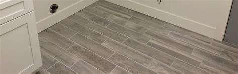 Gray Plank Tile Bathroom Gray Ceramic Plank Tile Emrichpro