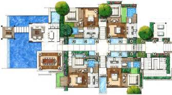 villa house plans villas floor plans floor plans villas resorts studio design gallery best design
