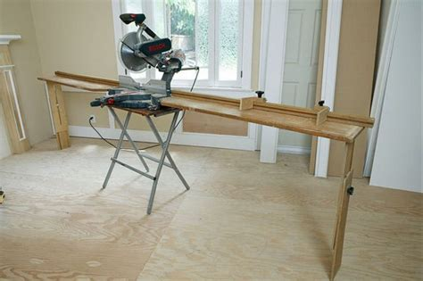portable miter  stand plans  woodworking