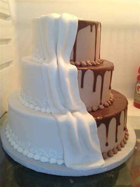 His And Wedding Cakes by His Hers Wedding Cake Wedding Cakes