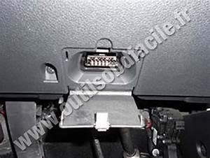 Obd2 Connector Location In Ford Fusion  2002